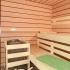 Badezimmer Sauna - Erle mit Glasfront - Einrichtung