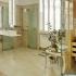 Badezimmer Sauna, abgeschrägt - Verglasung über Eck - Blick ins Badezimmer