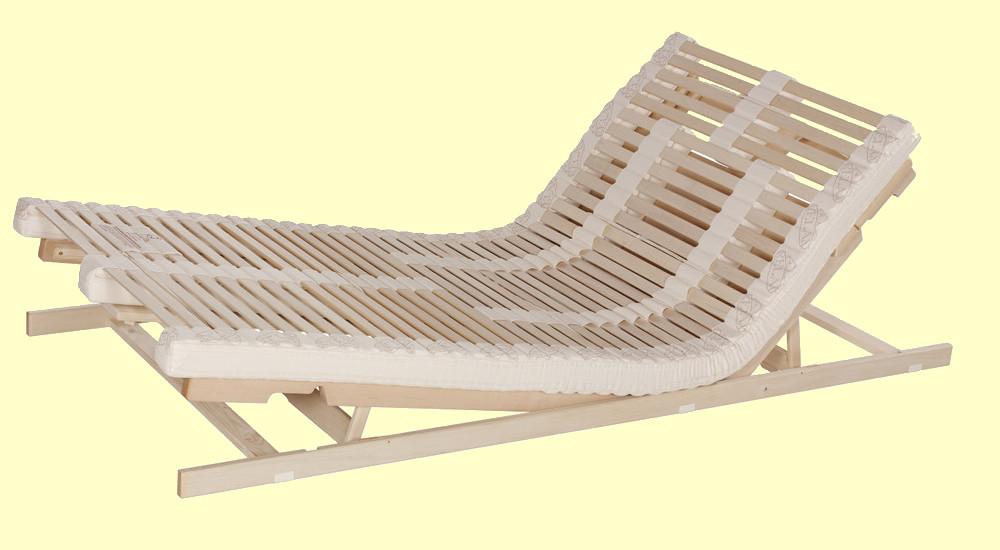 Lattenrost, Lamellenrost Relax Naturflex - Sitz- und Fußhochstellung