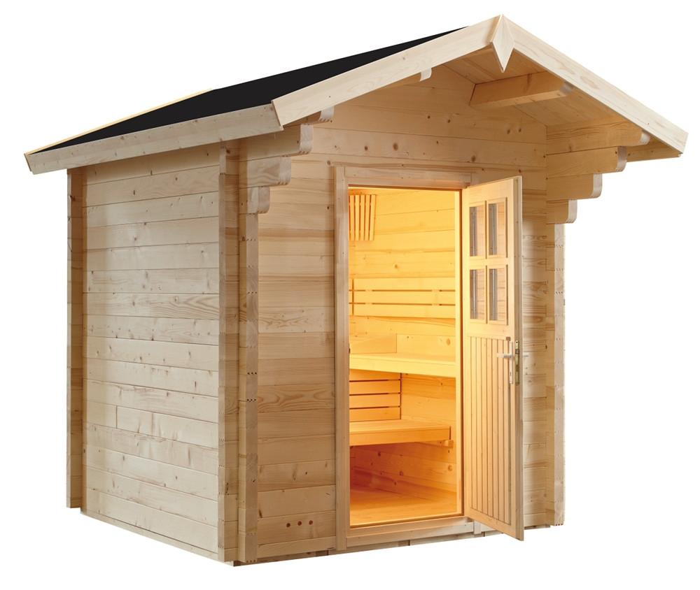 gartensauna die urspr ngliche sauna schreiner straub. Black Bedroom Furniture Sets. Home Design Ideas