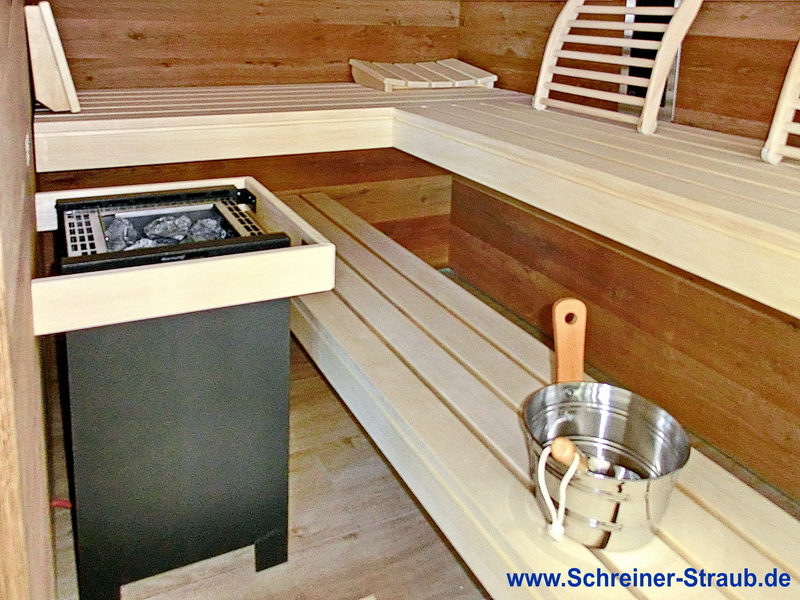 badezimmer sauna sauna im eigenen bad schreiner straub. Black Bedroom Furniture Sets. Home Design Ideas