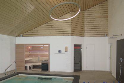 Sauna in Erle im Hallenbad