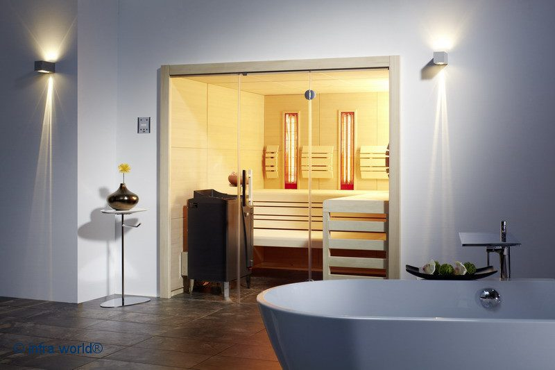 Infraworld Linea Einbau Sauna