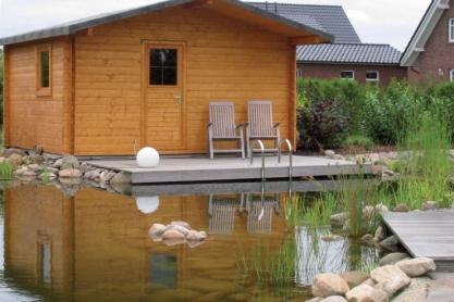 Gartensauna - Team SchreinerSauna - Blockhaus-Sauna