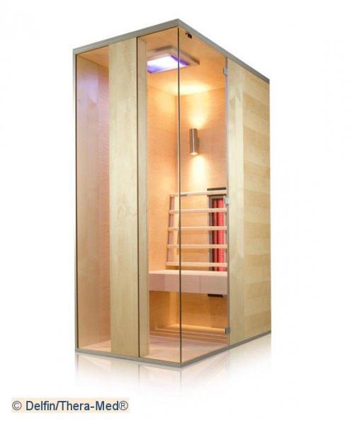 thera med infrarotkabinen schreiner straub wellness wohnen. Black Bedroom Furniture Sets. Home Design Ideas