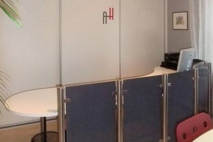 Schiebetür Schrank Büro
