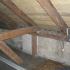 Dachboden-Sauna - Innenansicht - vorher