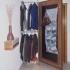 Garderobe - Spiegel geöffnet
