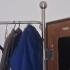 Garderobe - Detail: Metallrahmen