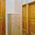 Einbaugarderobe - Massivholz - Kommode und Spiegelschrank