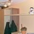 Garderobe - obere Ablage
