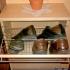 Garderobe - Schuhschrank, geöffnet