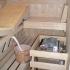 Badezimmer Sauna - Saunaofen
