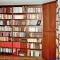 Wohnen - Großes Einbau-Bücherregal
