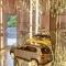Wohnen - Glasvitrine, beleuchtet - Glasboden