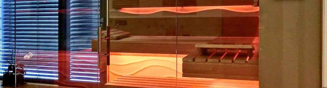 Glas Sauna