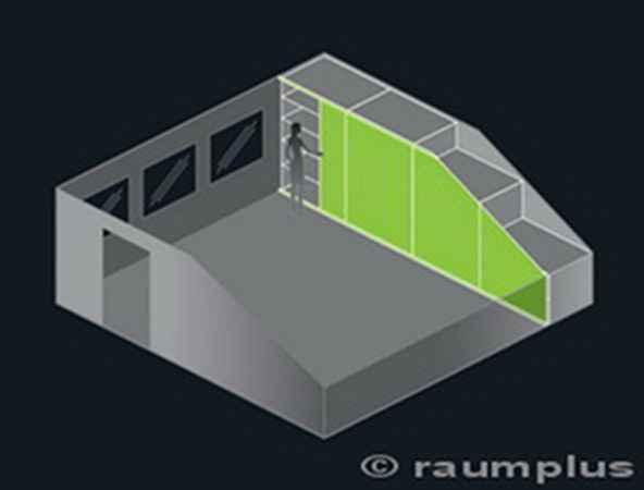Schiebetüren - Raumplus - Dachschräge