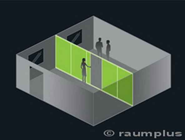 Schiebetüren - Raumplus - Raumteiler